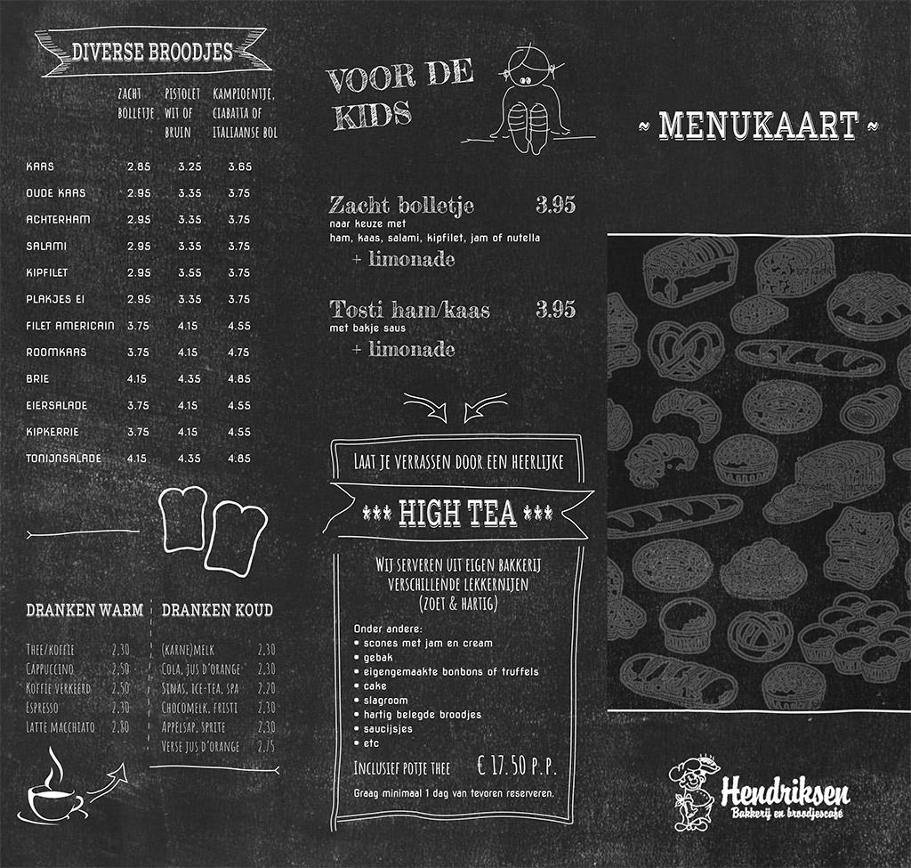 Menukaart-Broodjes-Bakkerij-Hendriksen-Zetten