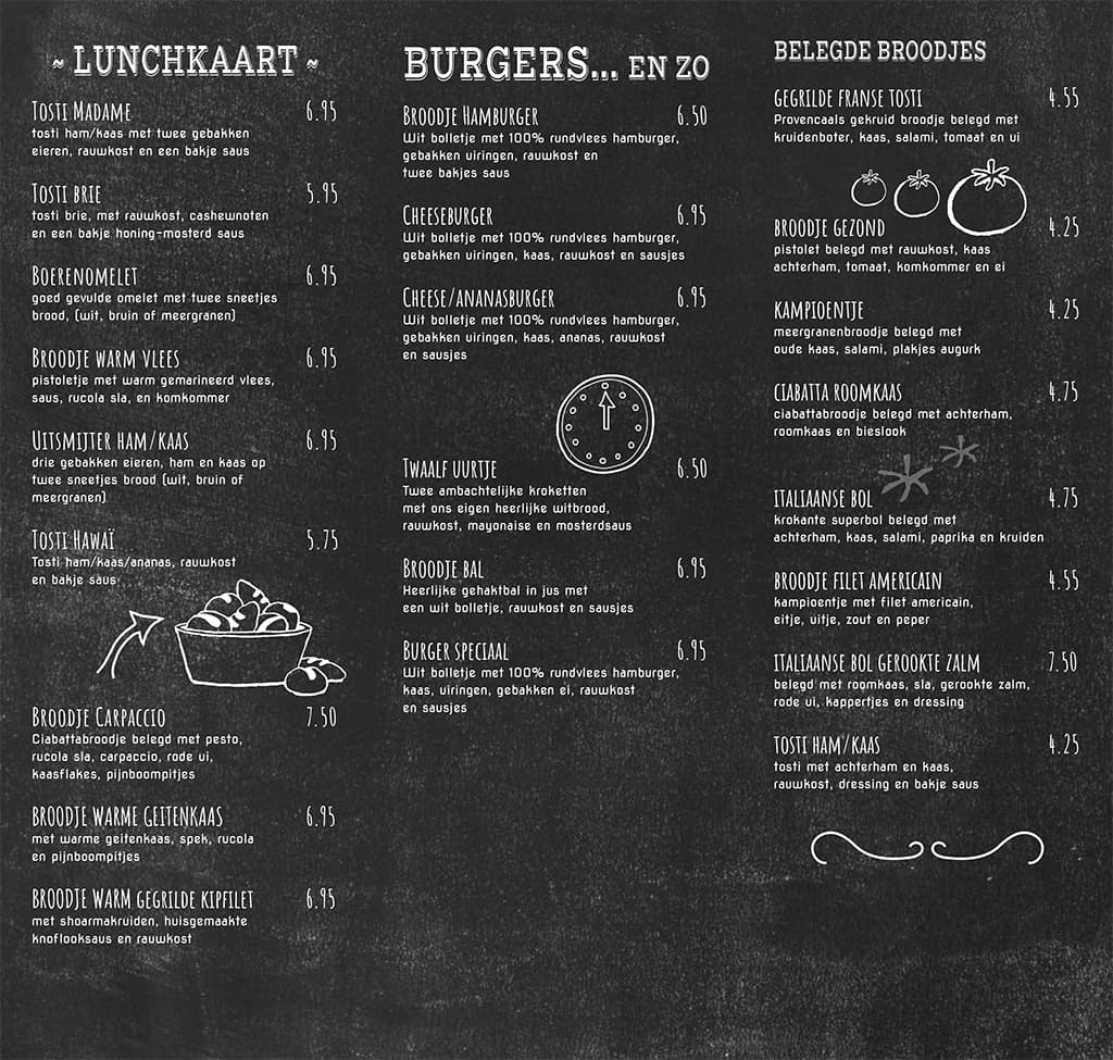 Menukaart-Lunch-Bakkerij-Hendriksen-Zetten